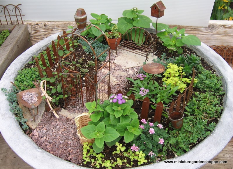 Miniature Garden Ideas 18 miniature fairy garden design ideas Miniature Garden Example